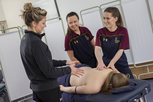 Cardiff Met Sports Science - Massage Teaching Room