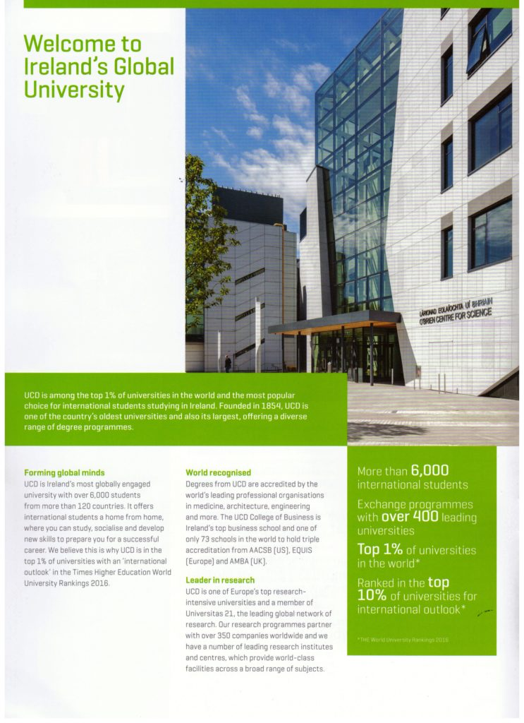 About UCD