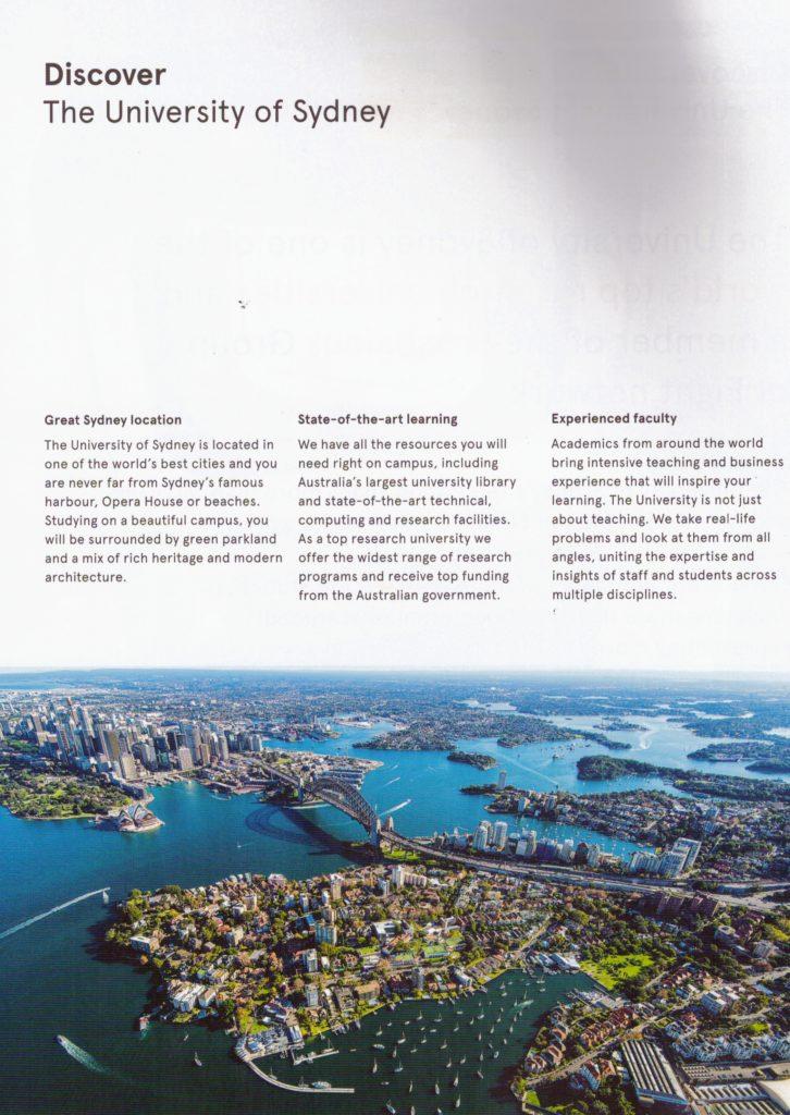 About University of Sydney (1)
