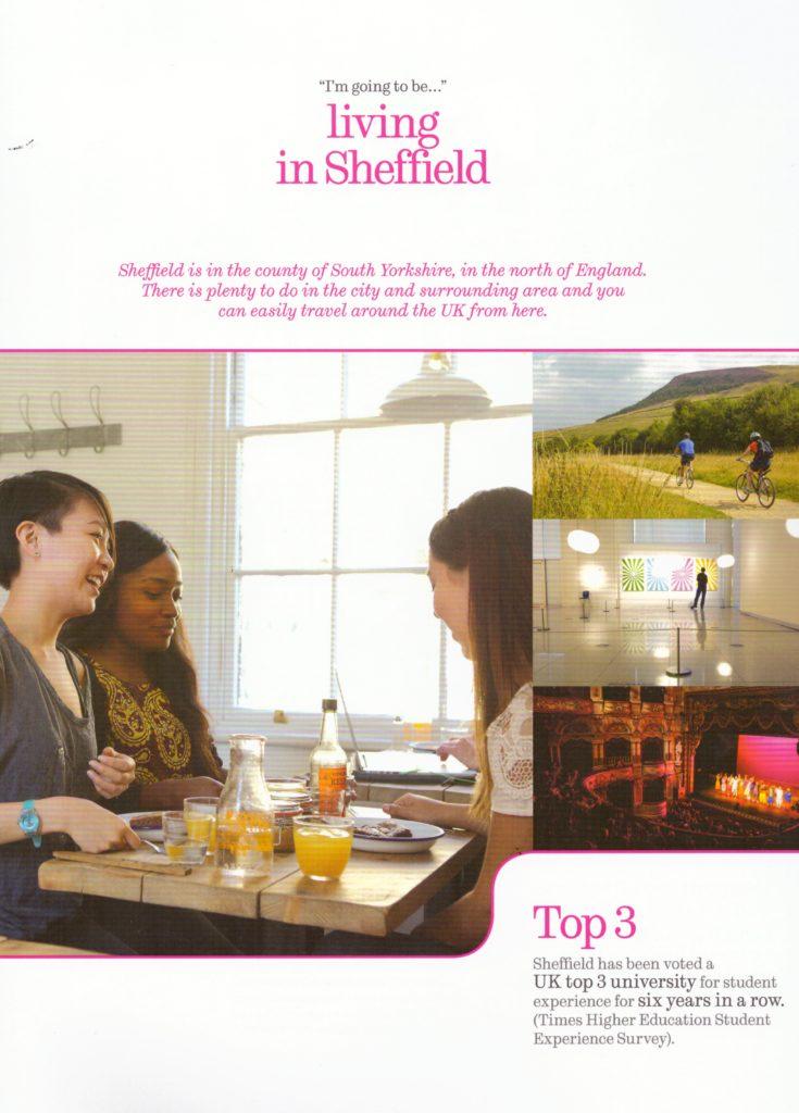Living in Sheffield