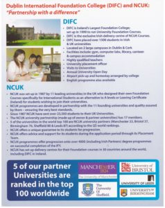 DIFC and NCUK