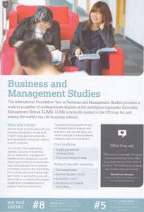 Lancaster University Business