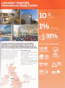 Lancaster University Facts & Figures
