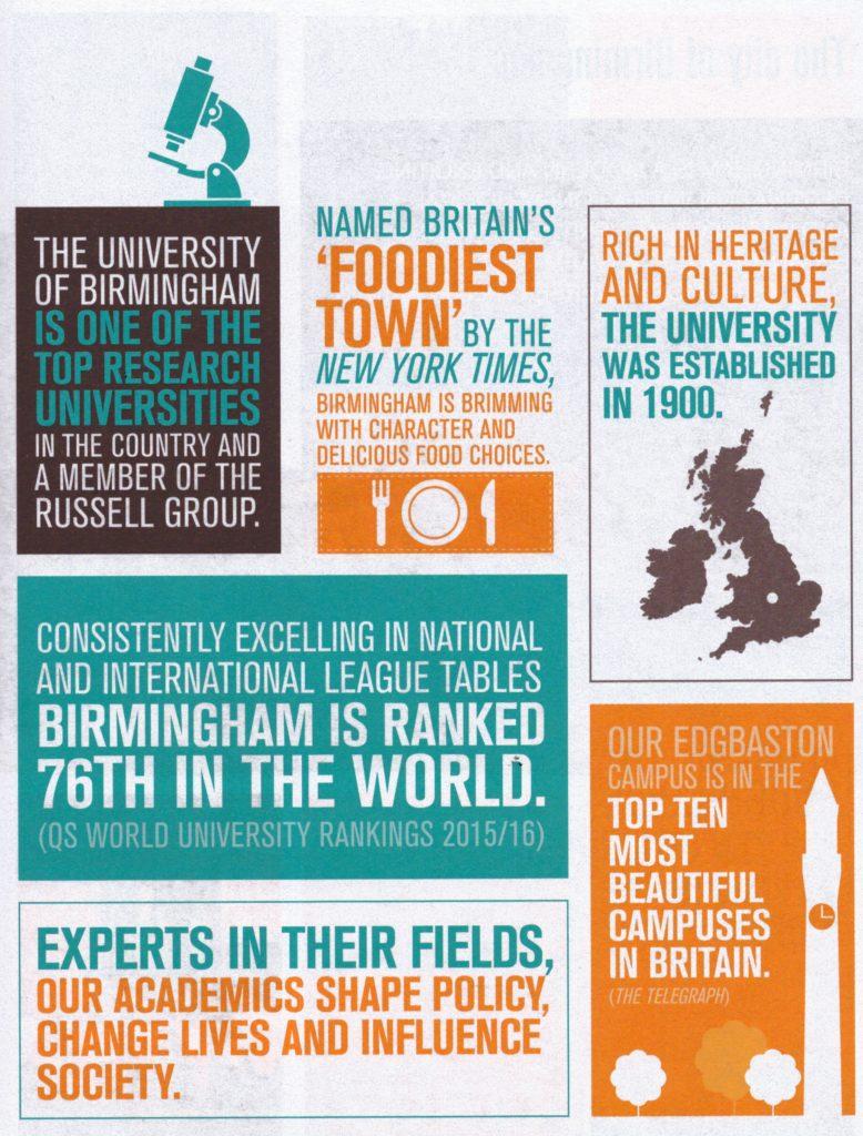 Why University of Birmingham? (2)