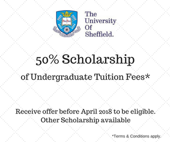 University of Sheffield Scholarships