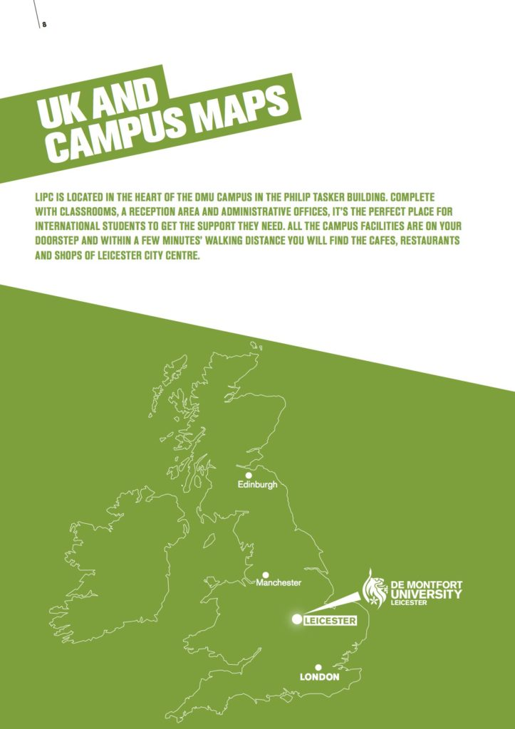 UK and Campus Map