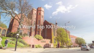 University of Sheffield Top 100 university