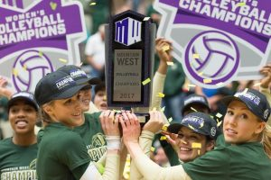 Colorado State University Volleyball Champions